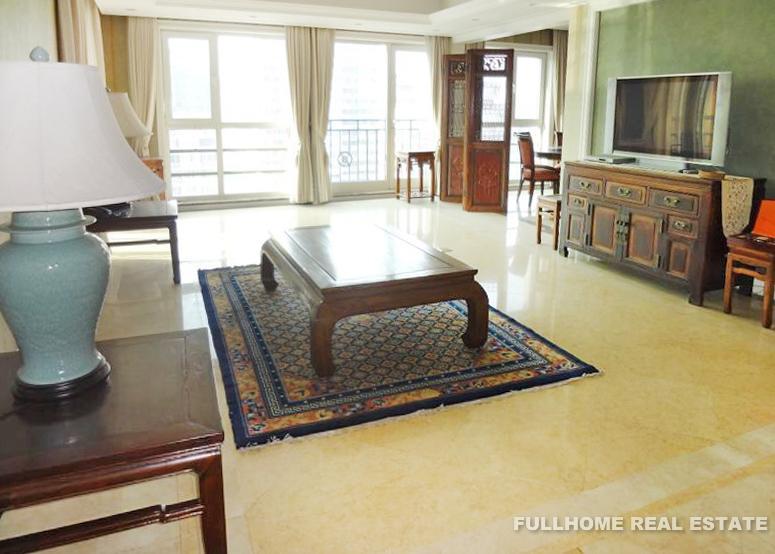 Guangcai International Mansion Beijing For Rent 3brs